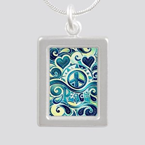 Colorful Hippie Art Necklaces
