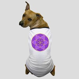 Seed of Life Angel 17 Dog T-Shirt