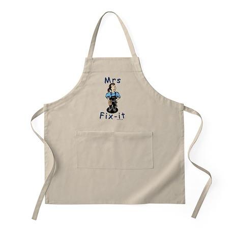 Mrs Fix-it BBQ or Shop Apron