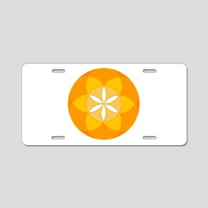Seed of Life Angel 19 Aluminum License Plate