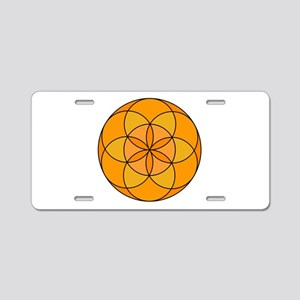 Seed of Life Angel 20 Aluminum License Plate