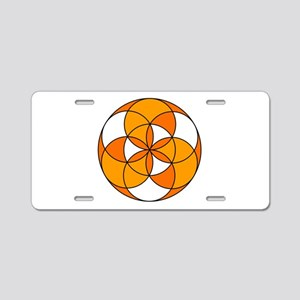 Seed of Life Angel 22 Aluminum License Plate