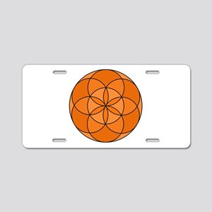Seed of Life Angel 23 Aluminum License Plate