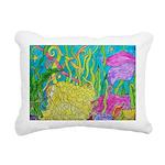 Mermaid Love Rectangular Canvas Pillow