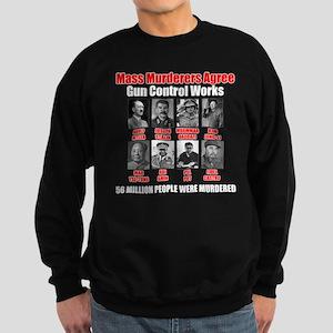 2-Gun_Control_Works.psd Sweatshirt