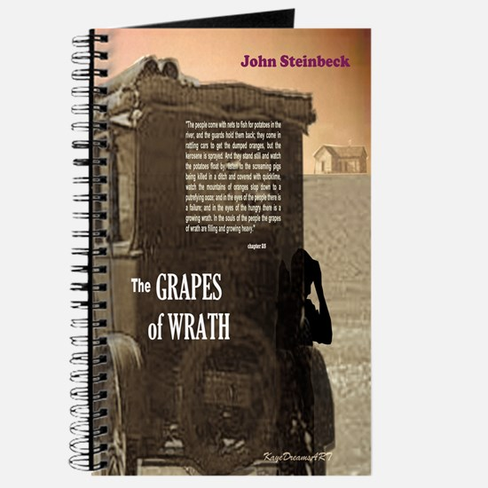 The Grapes of Wrath text Journal