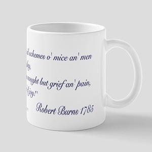 "Of mice and men, Robert Burns' ""Best laid&quo"