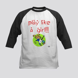 Guitar Girls ROCK! Kids Baseball Jersey