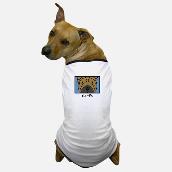 Anime Shar Pei Dog T-Shirt