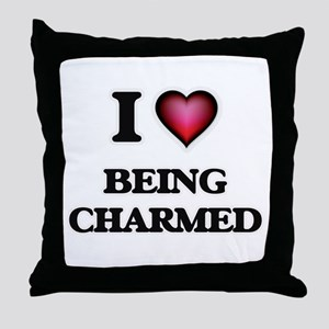 I love Being Charmed Throw Pillow