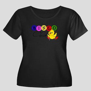 Bingo Chick Plus Size T-Shirt