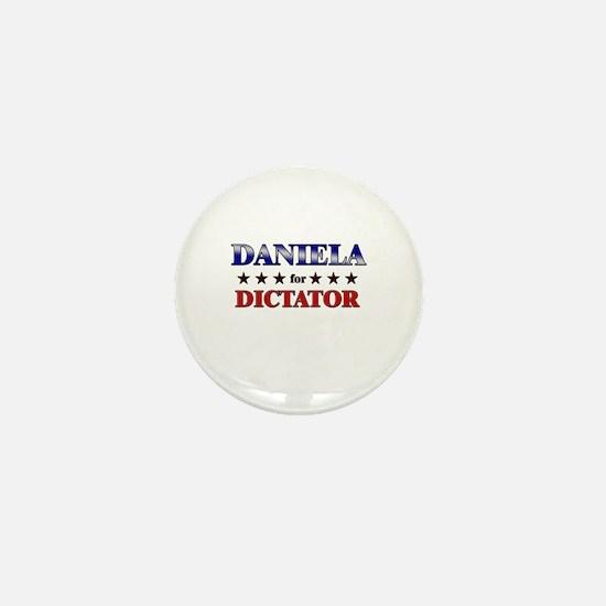 DANIELA for dictator Mini Button