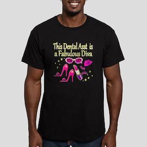 CHIC DENTAL ASST Men's Fitted T-Shirt (dark)
