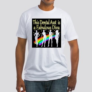 CHIC DENTAL ASST Fitted T-Shirt
