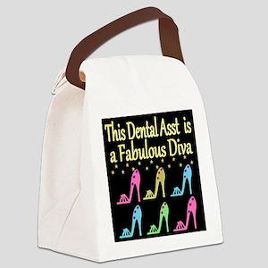 CHIC DENTAL ASST Canvas Lunch Bag