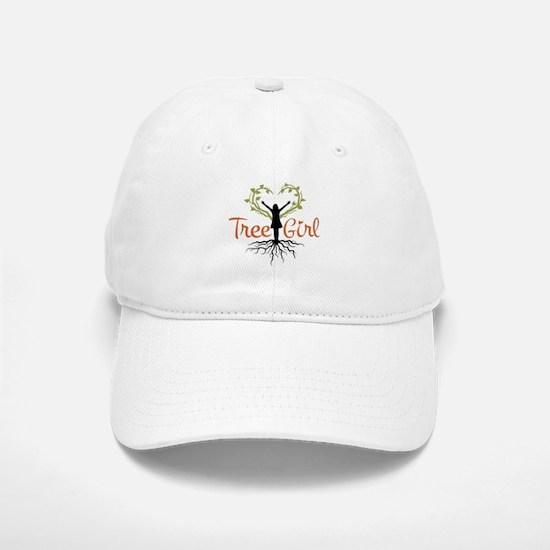 Tree Girl Baseball Baseball Cap