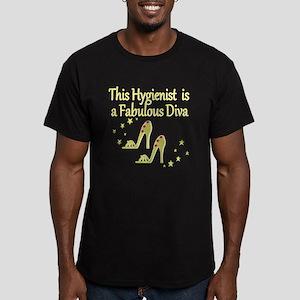 CHIC HYGIENIST Men's Fitted T-Shirt (dark)