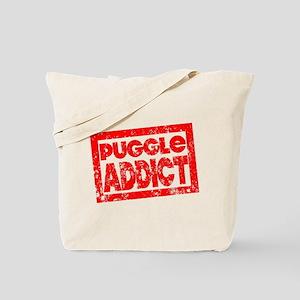 Puggle ADDICT Tote Bag