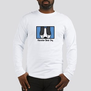 Anime Karelian Bear Dog Long Sleeve T-Shirt