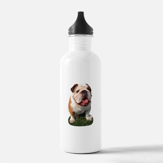 Bulldog Photo Water Bottle