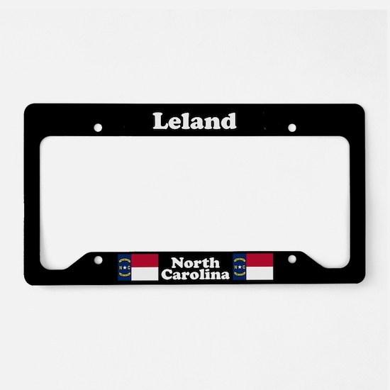 Leland NC License Plate Holder