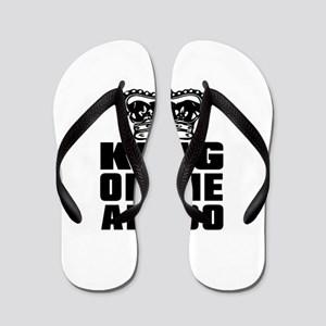 King Of The Aikido Flip Flops