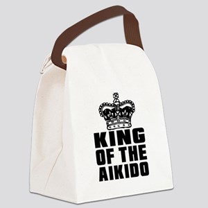 King Of The Aikido Canvas Lunch Bag