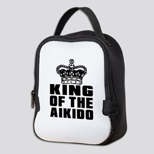 King Of The Aikido Neoprene Lunch Bag