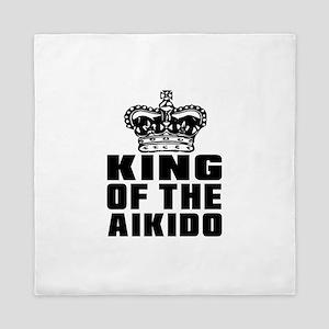 King Of The Aikido Queen Duvet