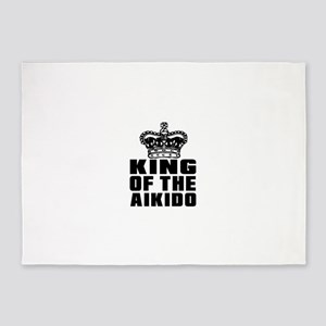 King Of The Aikido 5'x7'Area Rug