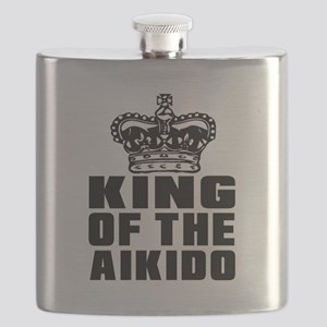 King Of The Aikido Flask