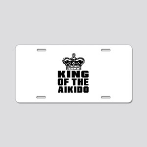King Of The Aikido Aluminum License Plate