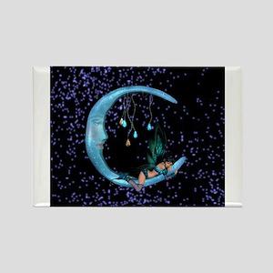 Bluebell 7 Rectangle Magnet