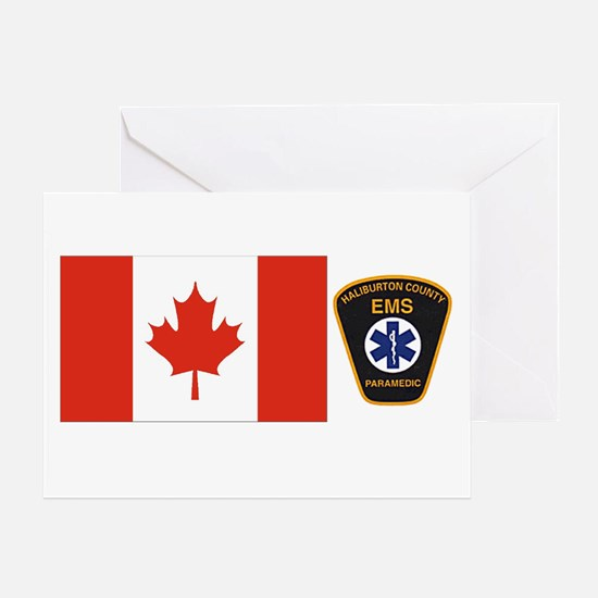 Haliburton County EMS Shirts Greeting Card