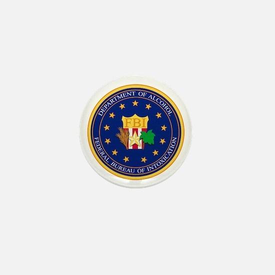 FBI - Department Of Alcohol Mini Button