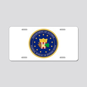 FBI - Department Of Alcoho Aluminum License Plate