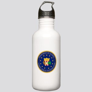 FBI - Department Of A Stainless Water Bottle 1.0L