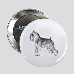 "Miniature Schnauzer 2.25"" Button"