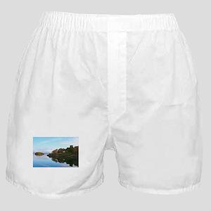 Dunollie Castle, Oban, Scotland Boxer Shorts
