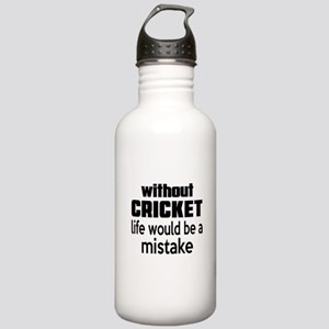 Without Cricket Life W Stainless Water Bottle 1.0L