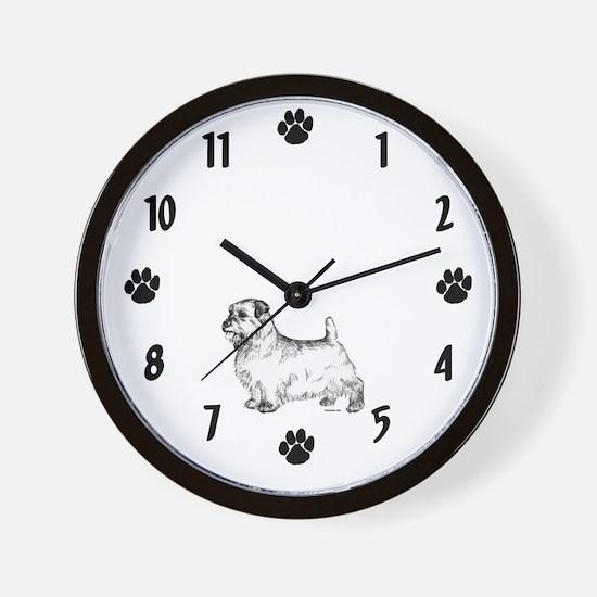 Norfolk Terrier Wall Clock