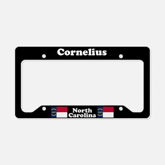 Cornelius NC License Plate Holder