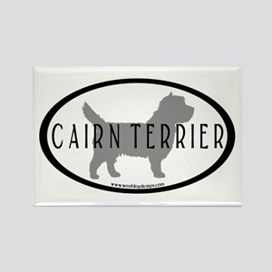 Cairn Terrier Oval #2 Rectangle Magnet