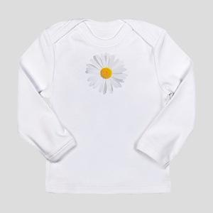 fresh white daisy Long Sleeve T-Shirt