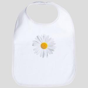 fresh white daisy Bib