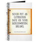 Screenwriting Journal Notebook
