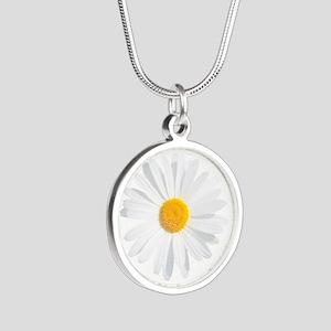 fresh white daisy Necklaces