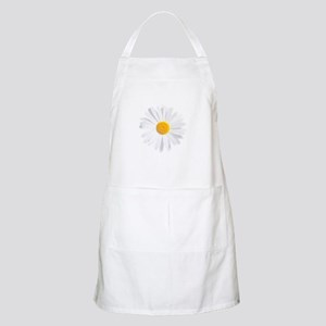 fresh white daisy Apron