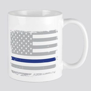 Serve Honor Protect Thin Blue Line Mugs