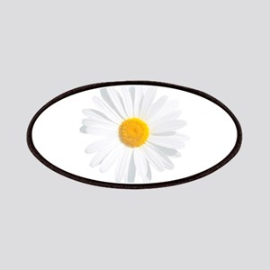 fresh white daisy Patch